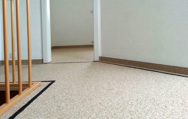 Steinteppich verlegen