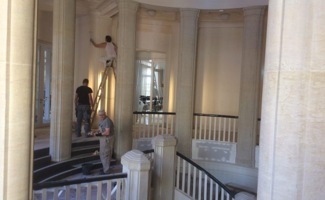 Landtag-Schwerin-Malerarbeiten-Ansicht-5